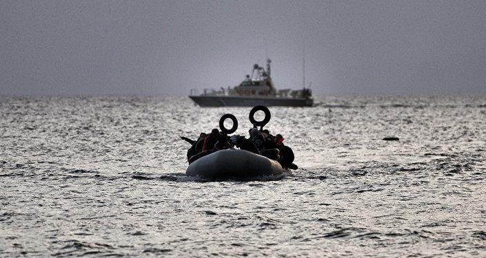 Rifugiati nel mar Egeo