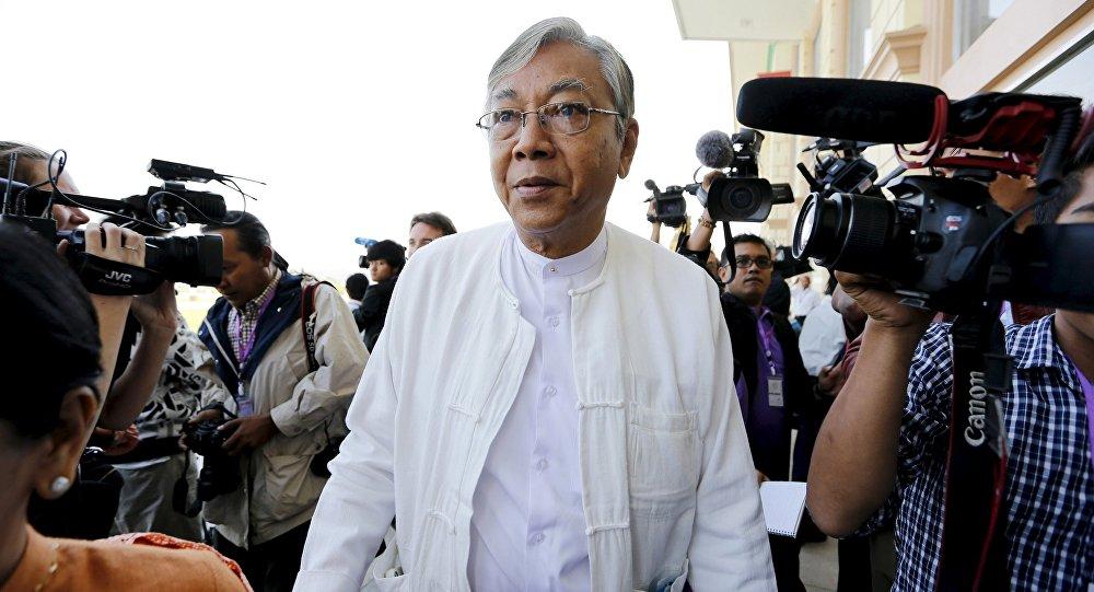 Htin Kyaw, nuovo presidente della Germania