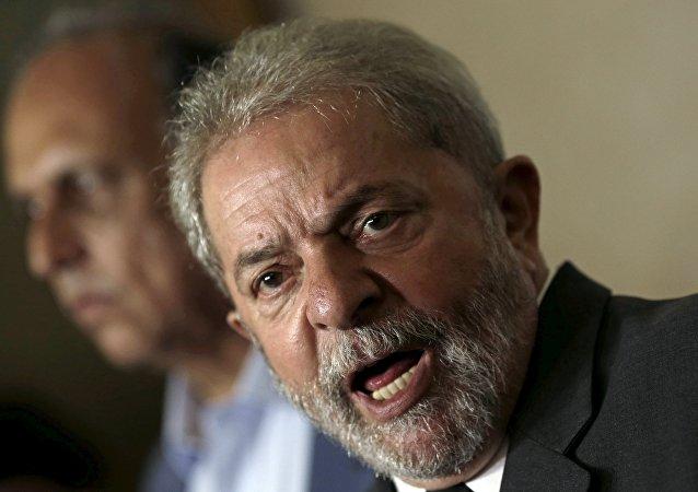 Ex presidente del Brasile Luiz Inacio Lula da Silva