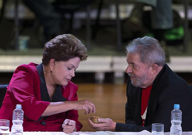 Dilma Rousseff e Luís Inácio Lula da Silva