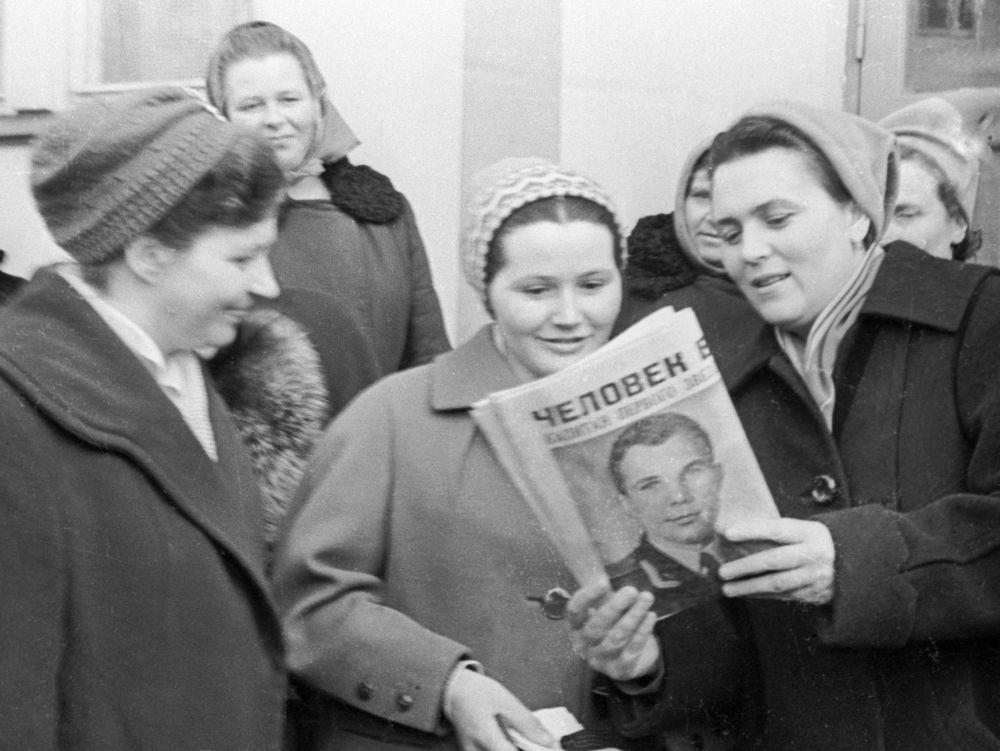 Valentina, la moglie di Yuri Gagarin.