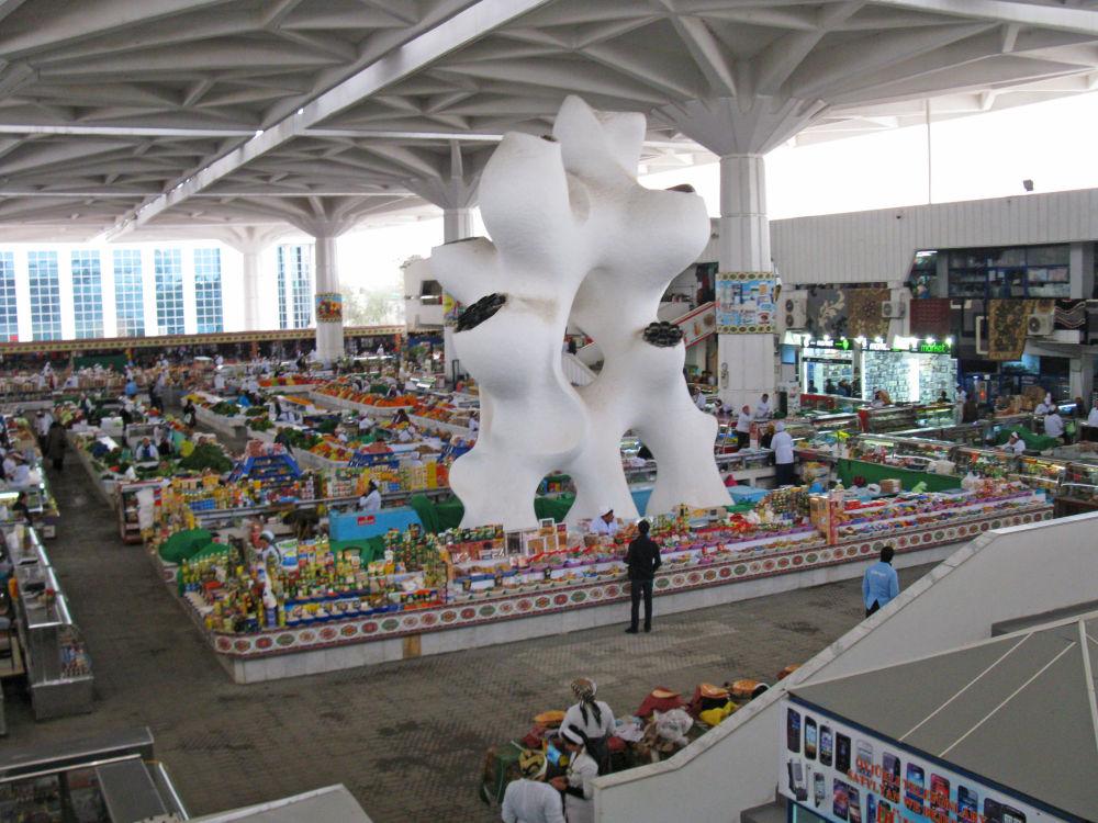 Ashgabat, il mercato russo