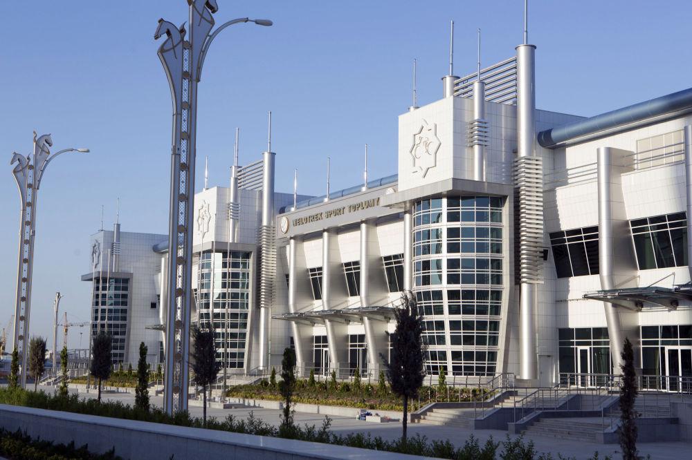 Veduta esterna dell'edificio del Velodromo