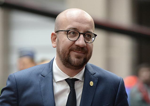 Il premier del Belgio Charles Michel.