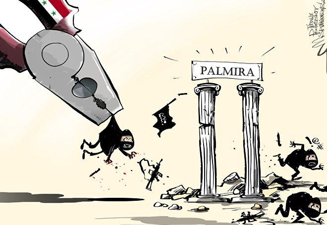 L'esercito siriano riconquista Palmira