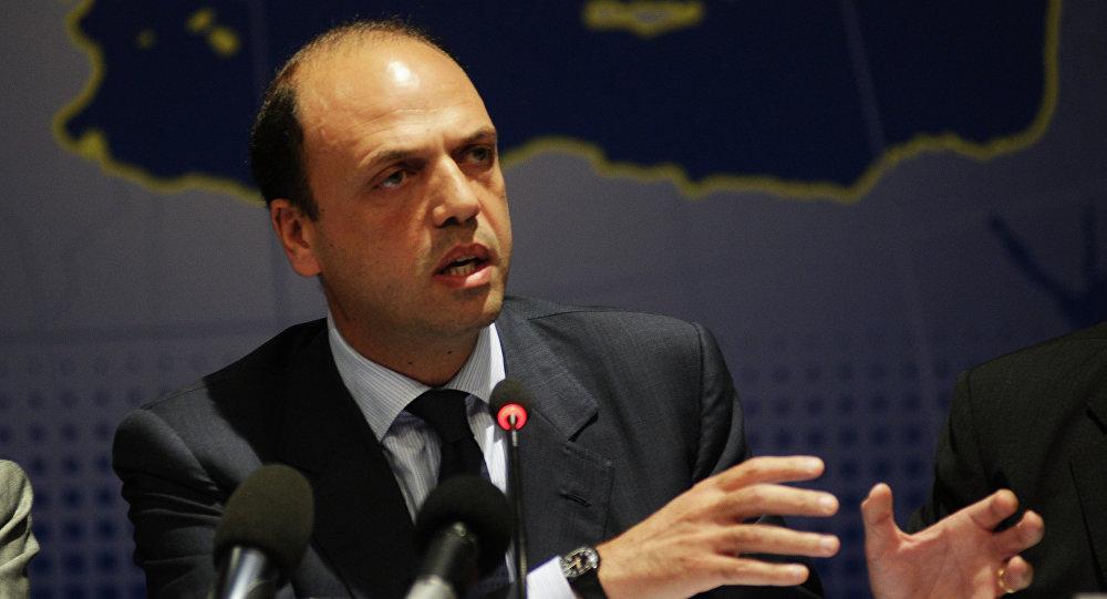 Il ministro degli Interni italiano Angelino Alfano
