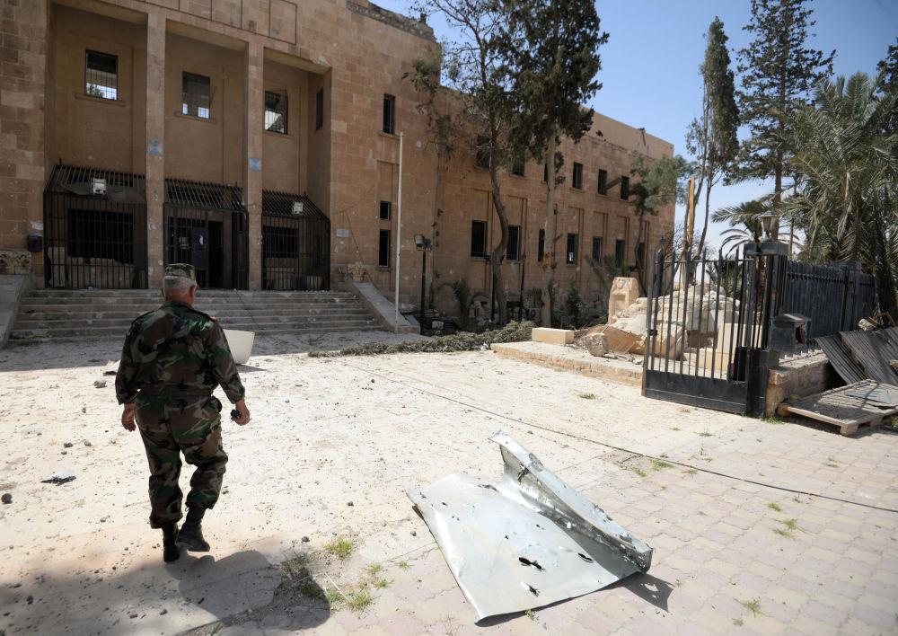 La parte storica di Palmira liberata dai terorristi