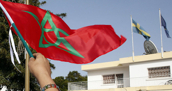 La bandiera di Marocco