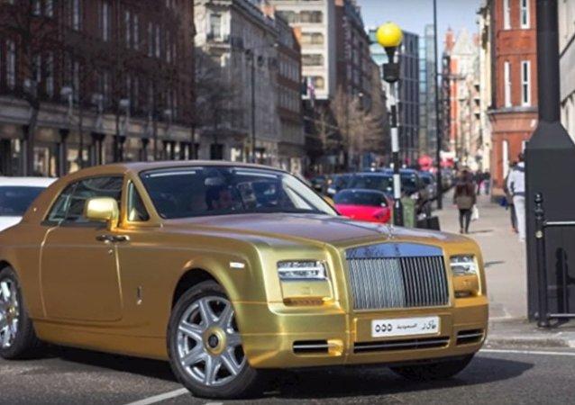 Macchine d'oro a Londra