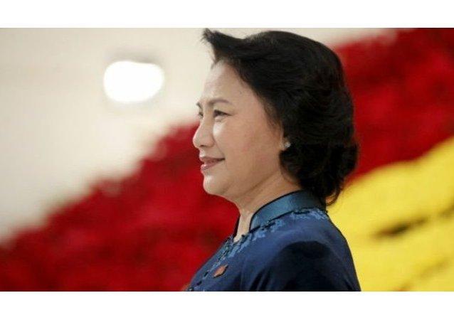 Nguyen Thi Kim Ngan, presidente del Vietnam