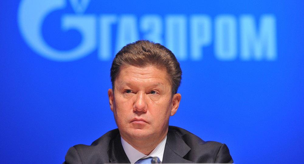 Ad di Gazprom Alexey Miller