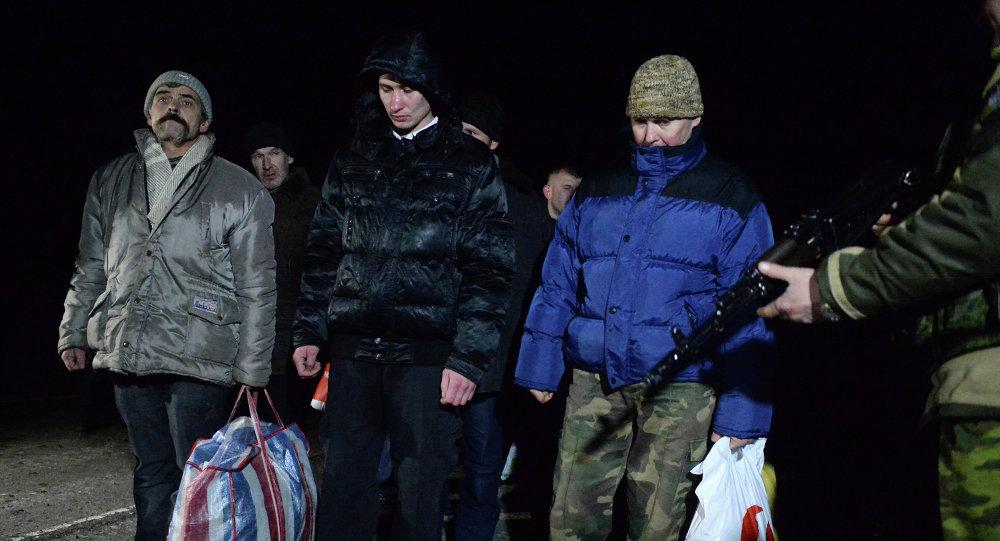 Scambio prigionieri, Donbass
