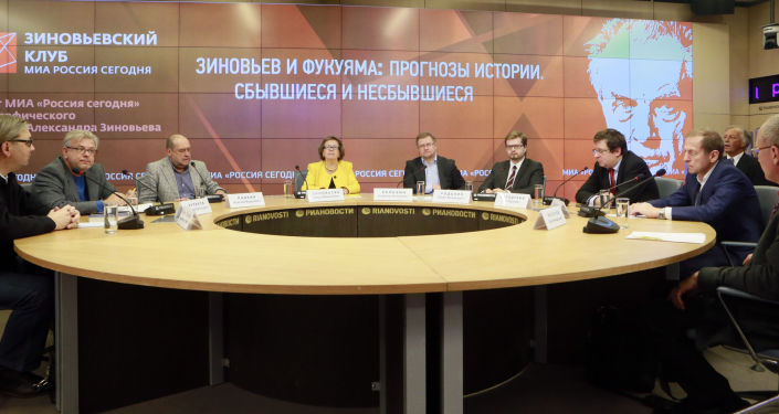 Zinoviev Club, il Progetto di Rossiya Segodnya