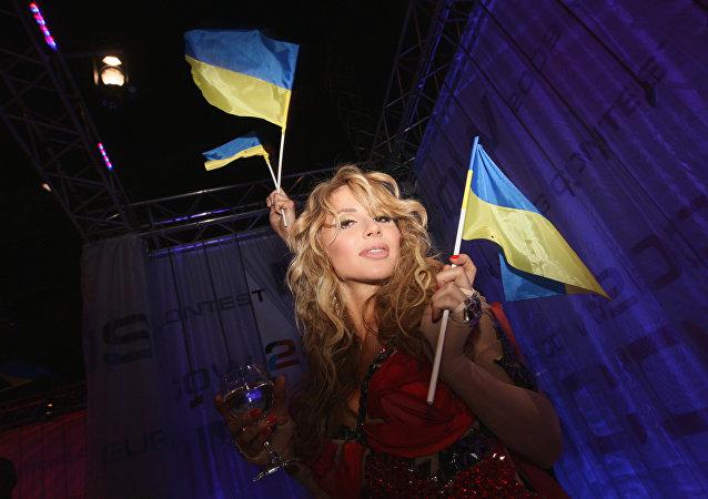 Una cantante ucraina all'Eurovisione del 2009