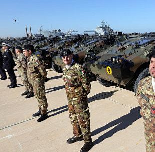 Soldati italiani in Libia