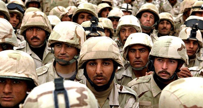 Esercito regolate iracheno a Mosul