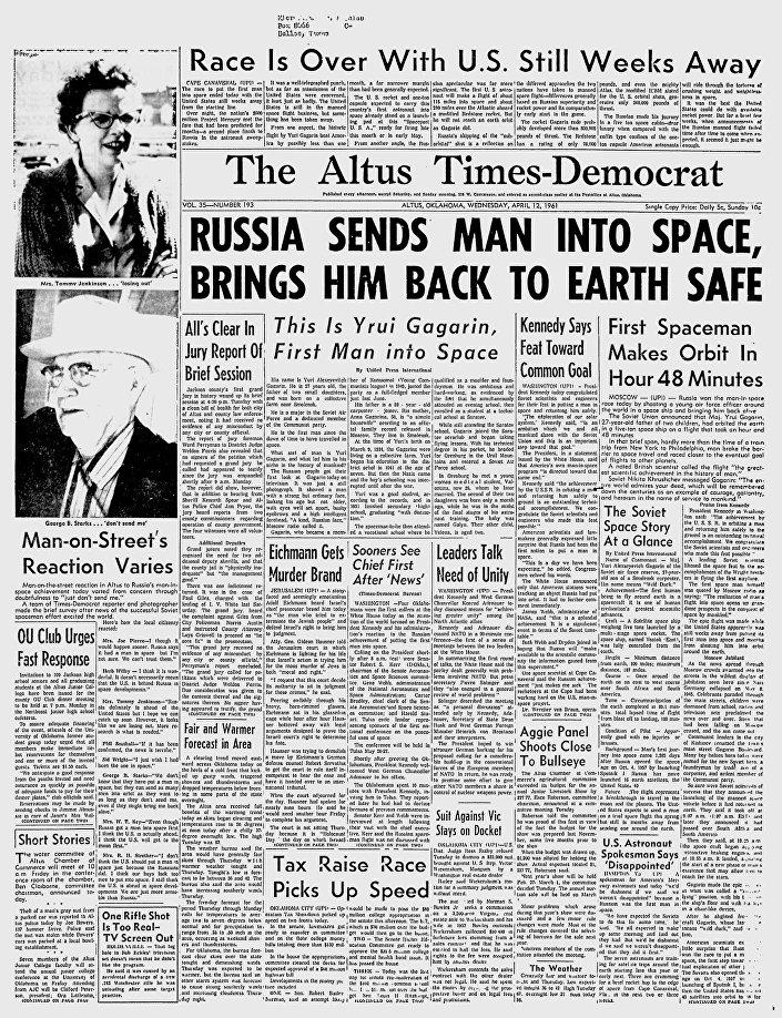 Giornale The Altus Times-Democrat, Stati Uniti