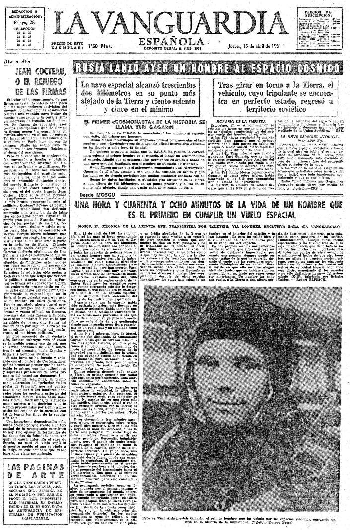 Giornale La Vanguardia, Spagna