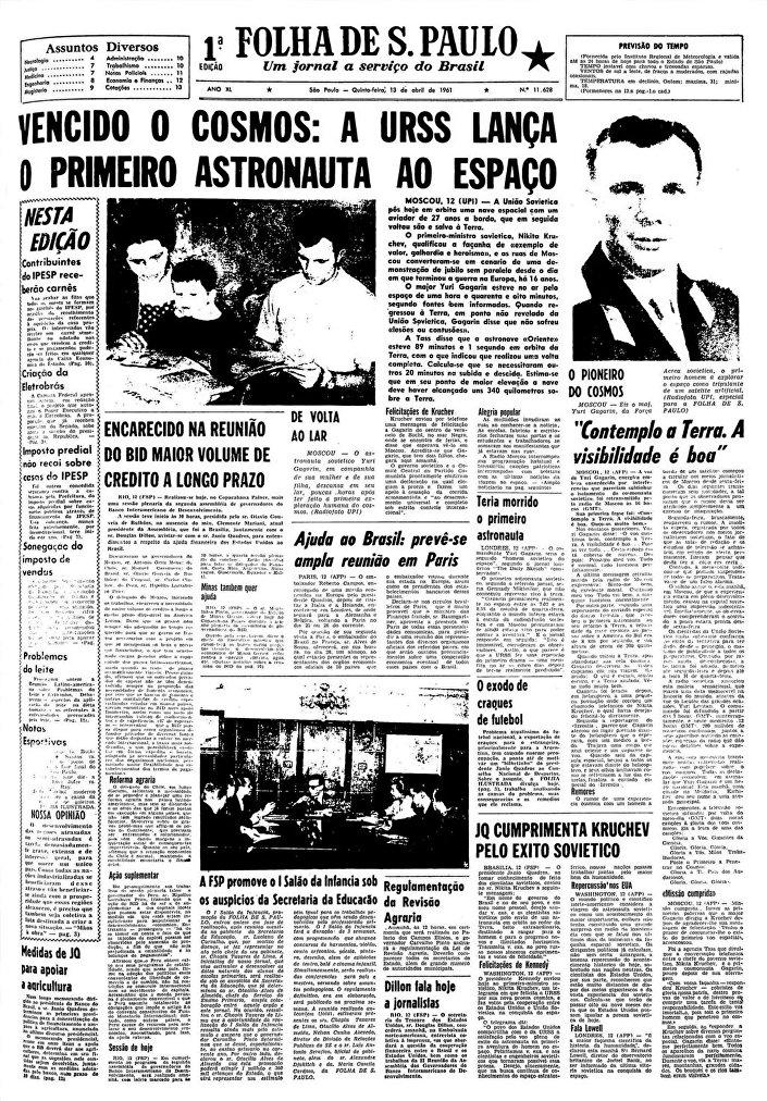 Giornale Folha de S. Paulo, Brasile