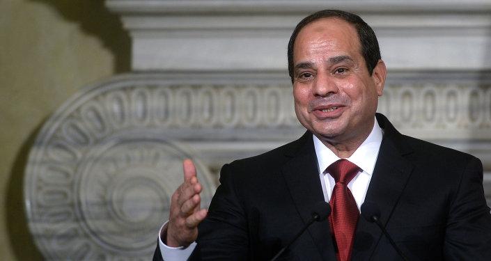 Presidente egiziano Abdel Fattah al-Sisi