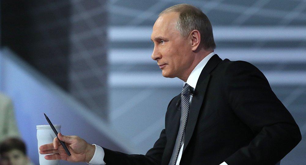 Diretta con Vladimir Putin