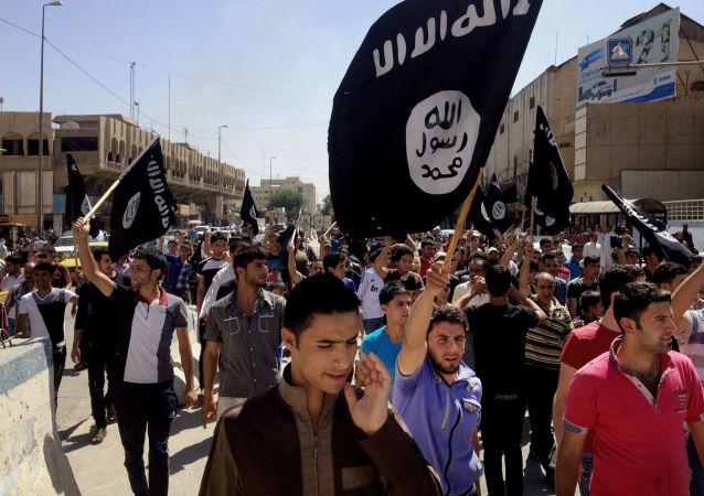 I manifestanti per al-Qaeda.