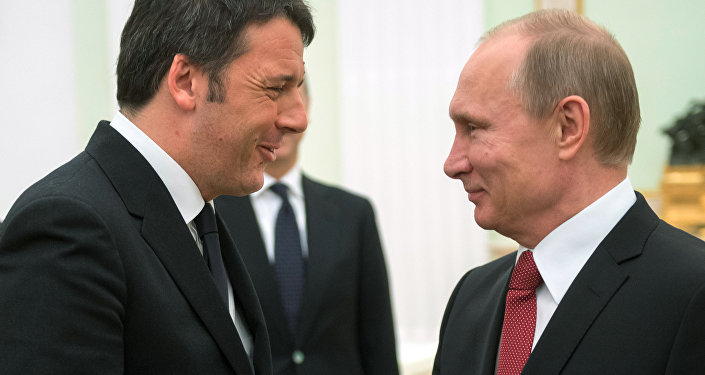 Incontro Renzi e Putin