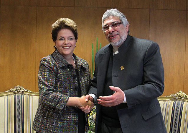 Dilma Rousseff e Fernando Lugo