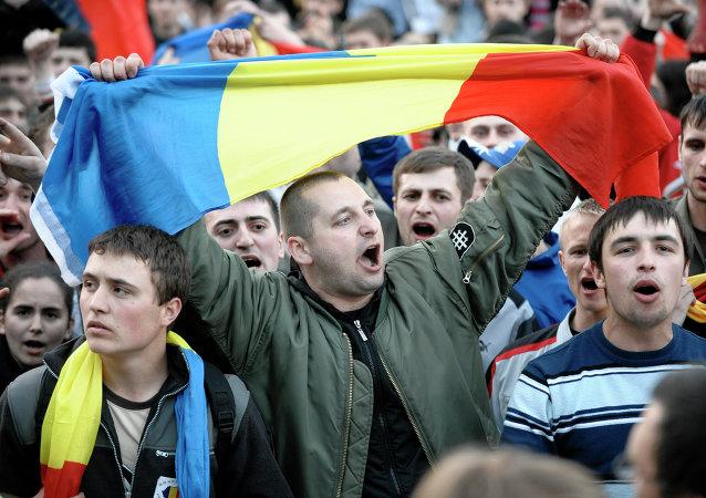 Manifestazione a Chisinau