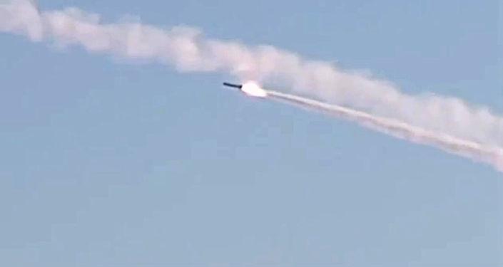 Missile da crociera Kalibr (foto d'archivio)