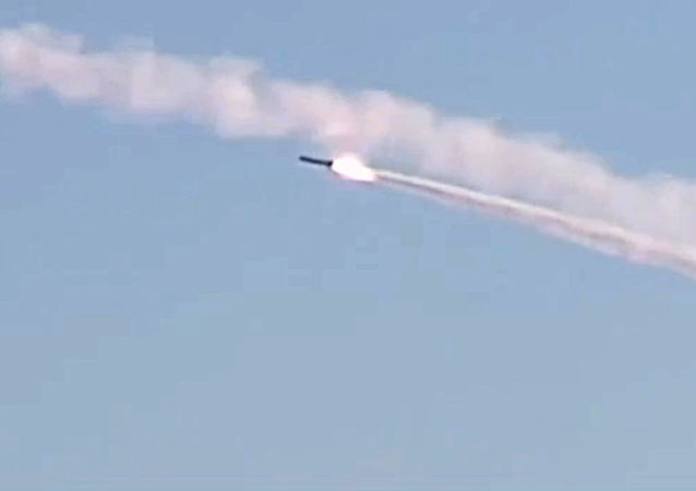 Missile da crociera russo (foto d'archivio)