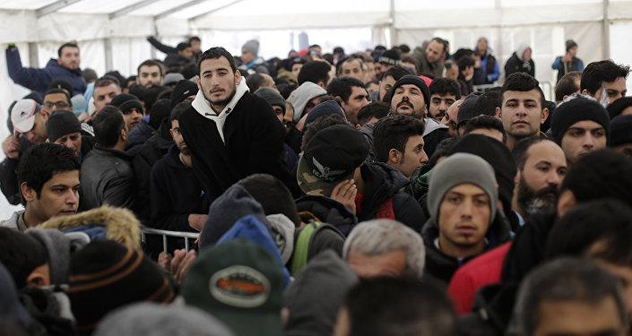 Migranti a Berlino