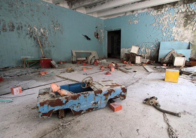 Pripyat, zona di esclusione di Chernobyl