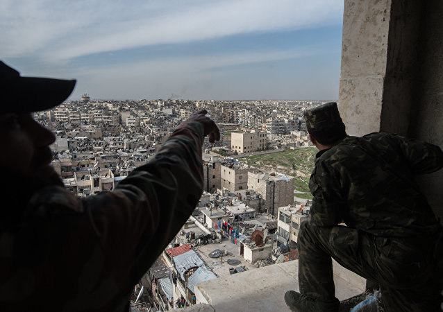 Esercito siriano ad Aleppo