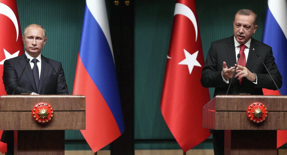 Putin ed Erdogan (foto d'archivio)