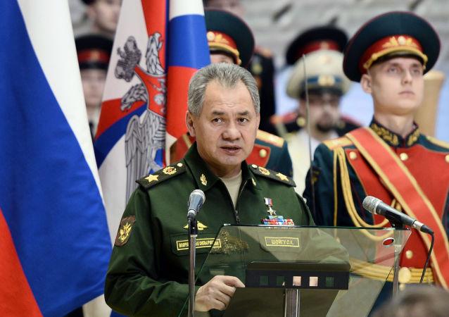 Ministro della Difesa Sergey Shoygu