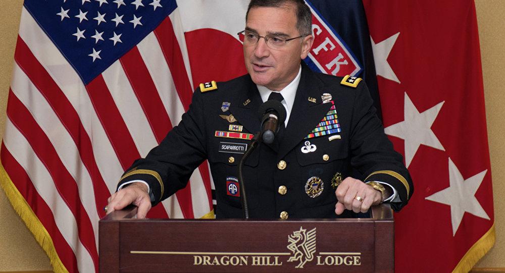 Il generale Curtis Scaparrotti