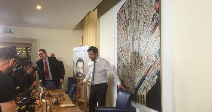 Presentazione del libro di Matteo Salvini