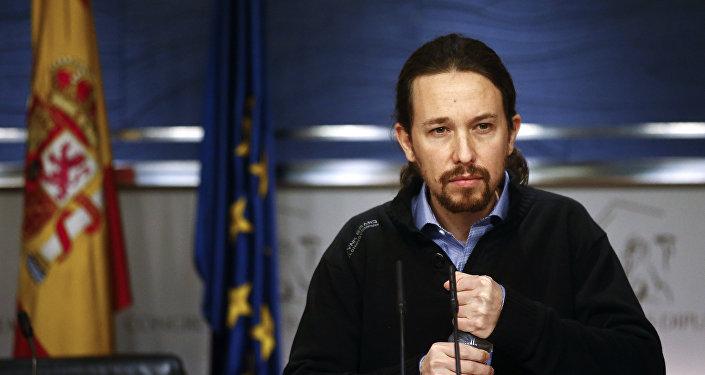 Pablo Iglesias, il leader di Podemos