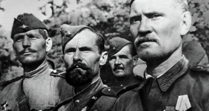 Soldati dell'Armata Rossa