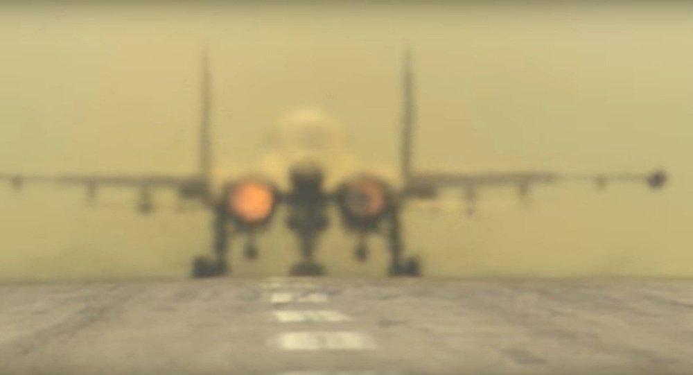 Aerei russi alla base aerea Hmeimim