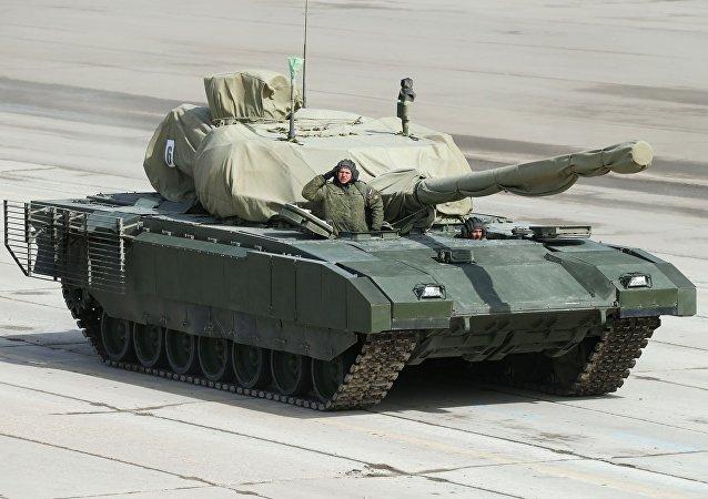 Carro armato Armata - v