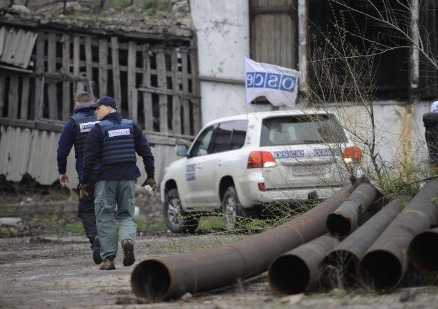 Ispettori OSCE nel Donbass