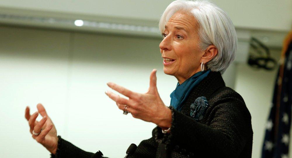 Christine Lagarde, direttore FMI (foto d'archivio)