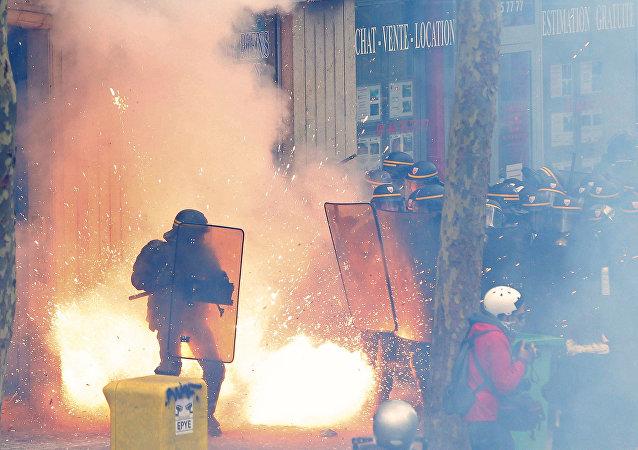 Manifestazioni in Francia