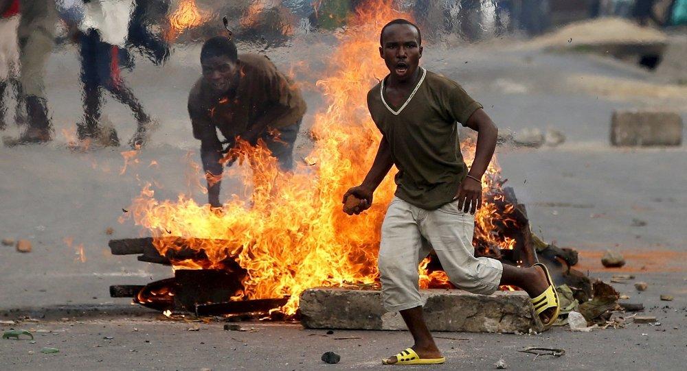Proteste in Burundi