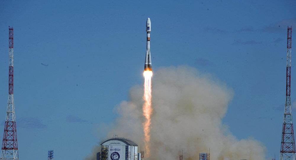 Primo lancio dal Vostochny space center, Russia