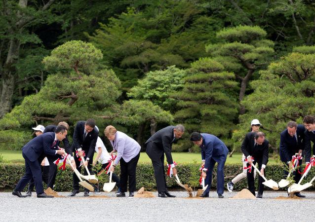 Leader del G7 in Giappone