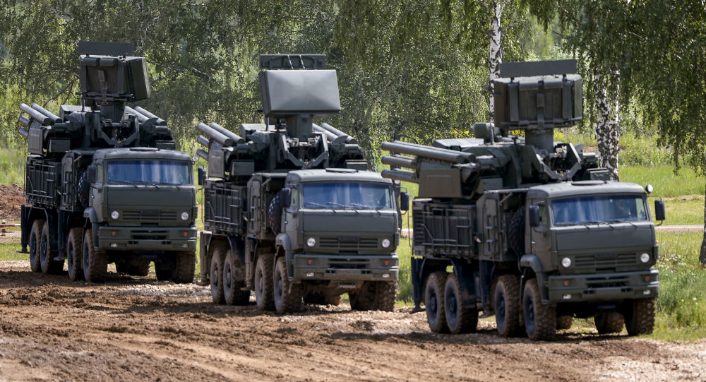 Lanciamissili di difesa aerea Pantsir-S1