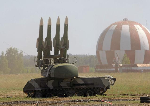 Il sistema di difesa aerea BUK-M2